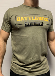 BattleBox UK™ | ATHLETE  | T-shirt Army Green / Olive / Black
