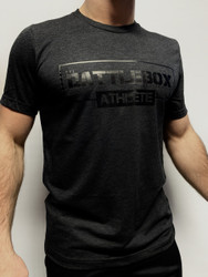 BattleBox UK™ | ATHLETE  | T-shirt Stealth Edition | Black & Black