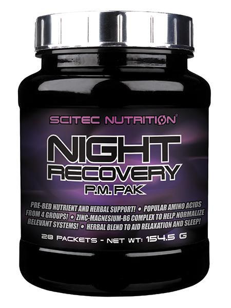 SCITEC NUTRITION   NIGHT RECOVERY WWW.BATTLEBOXUK.COM