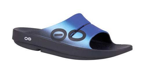 OOFOS MEN'S OOAHH SPORT Wave Recovery Footwear Slide In Flip Flop Sandal  - www.BattleBoxUk.com