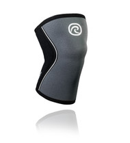 REHBAND | RX 5MM KNEE SLEEVE | STEEL GREY & BLACK (105309) - www.BattleBoxUk.com