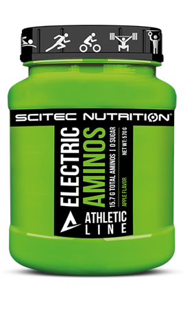 SCITEC ATHLETIC LINE | ELECTRIC AMINOS WWW.BATTLEBOXUK.COM