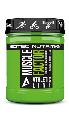 SCITEC ATHLETIC LINE | ATHLETIC LINE MUSCLE FACTOR  www.battleboxuk.com