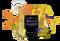 VIVO LIFE GOLDEN TURMERIC LATTE Adaptogenic Mushroom Latte Vegan and Paleo  - www.BattleBoxuk.com