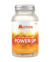 Motion Nutrition | Nootropics | Power Up | Day Time Nootropic | 30 days www.battleboxuk.com