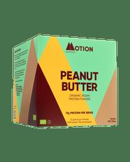 MOTION NUTRITION | ORGANIC VEGAN PROTEIN | Peanut Butter | Protein Shake www.battleboxuk.com