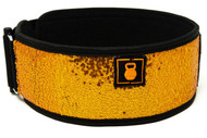 2POOD | BLAZE (SPARKLE) STRAIGHT WEIGHTLIFTING BELT (w/ WODclamp®) WWW.BATTLEBOXUK.COM