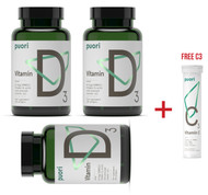 SUMMER DEAL - 3 X Puori D3 Essential Minerals WITH FREE Puori C3 - www.BattleBoxUK.com