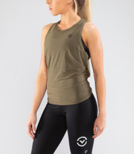 VIRUS | WPC25 | THE OG TIE BACK TANK | HEATHER ARMY GREEN  WWW.BATTLEBOXUK.COM