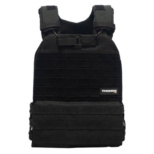 THORN+FIT   TACTICAL Weighted Training Vest Black   Various Packs 9.3kg 6.5kg 4.7kg WOD Fitness  - www.BattleBoxUk.com
