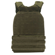 THORN+FIT | TACTICAL Weighted Training Vest Army Green | Various Packs 9.3kg 6.5kg 4.7kg WOD Fitness  -www.BattleBoxUK.com