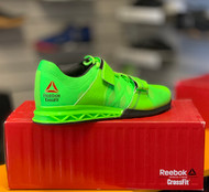 MEN CROSSFIT REEBOK | LIFTER Plus 2.0 SHOE | Solar Gree BRT Green Black V72385 - www.BattleBoxUk.com