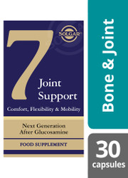 Solgar® 7 | Joint Support , Flexibility & Mobility | Vegetable Capsules | Pack of 30(E50497E) www.battleboxuk.com