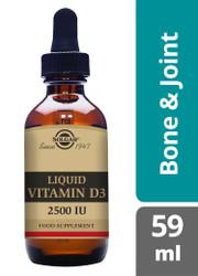 Solgar® | Liquid Vitamin D3 2500IU (62.5 iµ) Natural Orange Flavour - 59 ml (E32048) www.battleboxuk.com