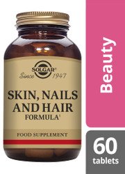 Solgar® | Skin, Nails and Hair Formula Tablets-Pack of 60 (E1735) www.battleboxuk.com