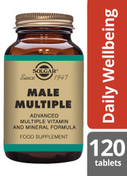 Solgar® | Male Multiple Tablets-Pack of 120 (E1206E) www.battleboxuk.com