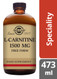 Solgar® | L-Carnitine 1500 mg Liquid - 473 ml (E30721) www.battleboxuk.com
