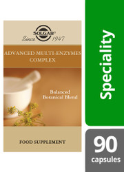 Solgar® | Advanced Multi-Enzyme Complex Vegetable Capsules - Pack of 90 (E51299E) www.battleboxuk.com
