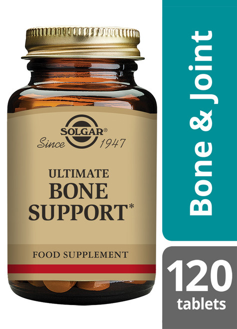 Solgar® | Ultimate Bone Support Tablets-Pack of 120 (E28E) www.battleboxuk.com