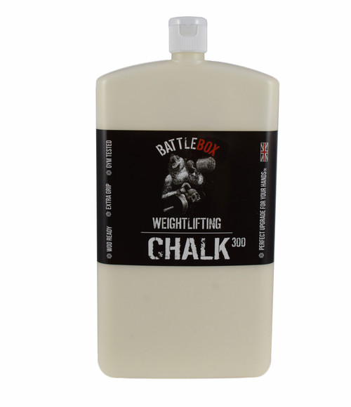 BATTLEBOX WEIGHTLIFTING™ | 300ml Bear Edition Premium Liquid Chalk For Rock Climbing Gymnastics Gym Pole Dancing WeightLifting - www.BattleBoxUk.com