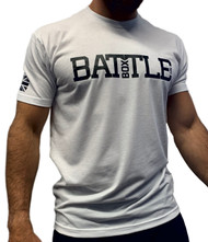 BattleBox UK™ | WOD 2.0 Union Jack | Short Sleeve Sueded T-shirt | White & Black  - www.BattleBoxUk.com
