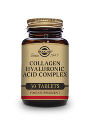 Solgar | Collagen Hyaluronic Acid Complex Tablets | Pack of 30   www.battleboxuk.com