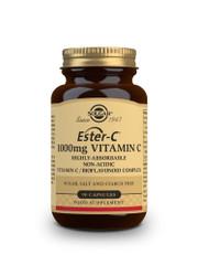 Solgar | Ester-C ® Plus 1000 mg Vitamin C Capsules | Pack of 90   www.battleboxuk.com