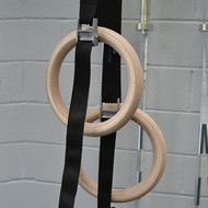 CrossTrainingUK - BULLDOG WOODEN GYMNASTIC RINGS