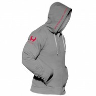 CrossTrainingUK - Hylete Cross Training compete performance 1.0 hoodie (Charcoal/Shocking Red)