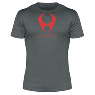 Hylete compete performance 3.0 tee (Slate/Shocking Red)