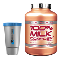 SCITEC NUTRITION 100% MILK COMPLEX* PROTEIN 2.3KG With Extra Aminos