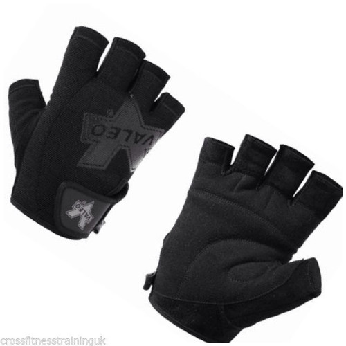 CrossTrainingUK - Valeo Performance Pro Lifting Gloves Black
