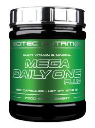 Scitec Nutrition MEGA DAILY ONE PLUS 120 Caps Multi Vitamin & Minerals