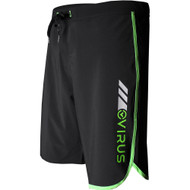 VIRUS Airflex 4-Way Stretch Training Shorts Black and Green
