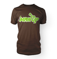 StrongerX Man Up T-Shirt Brown