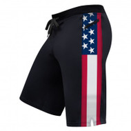 Hylete Cross-Training Shorts 2.0 (Black/USA)
