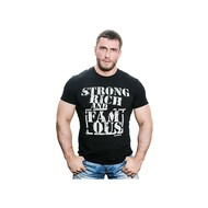 "KLOKOV ""STRONG""  WINNER T-SHIRT BLACK"