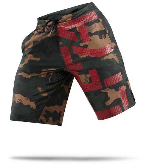 reebok crossfit camo shorts