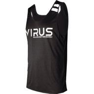 VIRUS Men's Stay Cool Technical Tank Top ASP Black