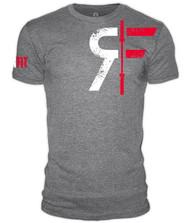 RokFit Logo Athletic Grey T-Shirt