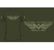 "SCITEC NUTRITION ""ARMY WOODLAND"" T-SHIRT"