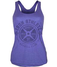 CrossTrainingUK.co.uk - RokFit Iron Athlete Purple Tank Top Women