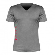 Hylete Cross-Training performance 2.0 tee (Charcoal/Shocking Red)