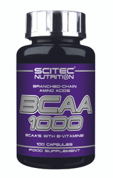 SCITEC NUTRITION BCAA'S 1000 WITH EXTRA B-VITAMINS