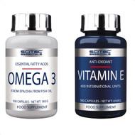 SCITEC NUTRITION PALEO PAK OMEGA-3 + VITAMIN-E