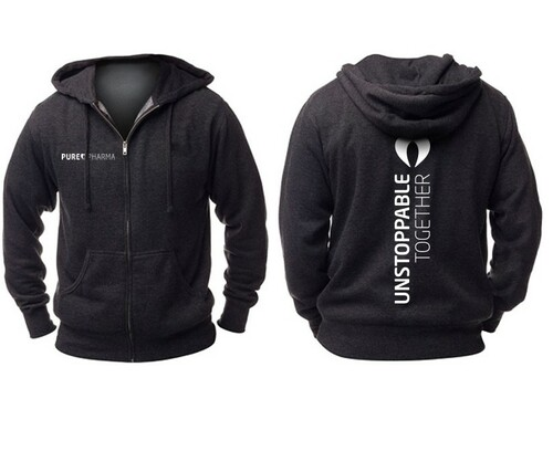 PUREPHARMA- UNSTOPPABLE TOGETHER HOODIE - www.BattleBoxUk.com