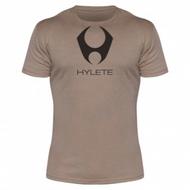 Hylete compete performance 3.0 tee (Light Brown/Black)