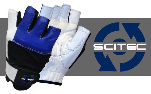 CrossTrainingUK - SciTec Nutrition WeightLifting Gloves Blue Style