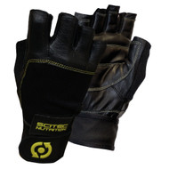 CrossTrainingUK - SciTec Nutrition WeightLifting Gloves Yellow Leather