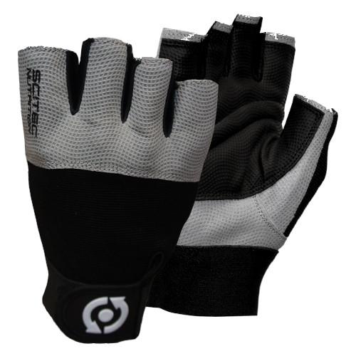 CrossTrainingUK - SciTec Nutrition WeightLifting Gloves Grey Style